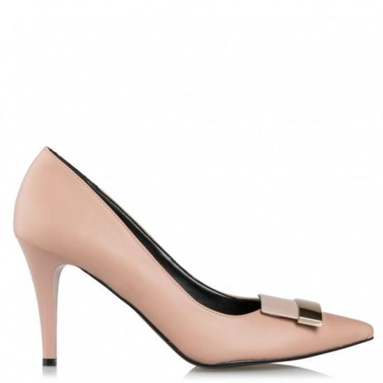 Envie Shoes Γυναικείες Γόβες E02-08700-90 Nude