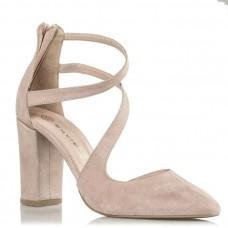 Envie Shoes Γυναικείες Γόβες E02-09080-90 Nude Suede