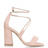 Envie Shoes Γυναικεία Πέδιλα E02-09093-90 Nude Suede