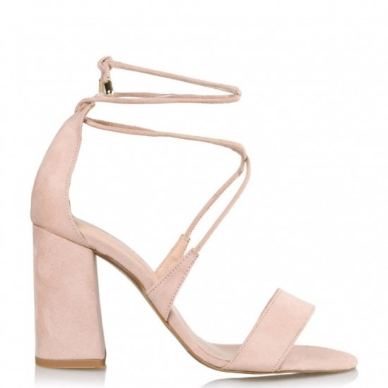 0c75d715d2f Envie Shoes Γυναικεία Πέδιλα E02-09093-90 Nude Suede | Milanos Shoes
