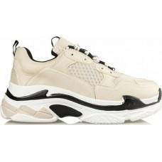 Miss NV Γυναικεία Sneakers V49-14095-36 Μπέζ