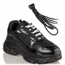 Miss NV Γυναικεία Sneakers V49-14095-34 Μαύρο