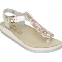 FANTASY SANDALS S3001 SILVER ANTILOPE