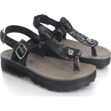 FANTASY SANDALS S9005 BLACK SPLASH