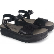 FANTASY SANDALS S104 BLACK SPLASH
