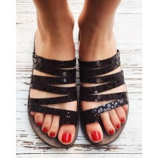 FANTASY SANDALS S400 BLACK SPLASH