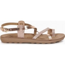 FANTASY SANDALS S406 ROSEGOLD ROCK