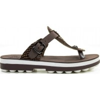 FANTASY SANDALS S9004 ESPRESSO COBRA