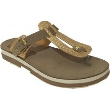 FANTASY SANDALS S9004 TAUPE ROSEGOLD