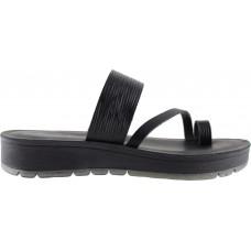 Fiore Γυναικεία Σανδάλια Δέρμα T70 Μαύρο
