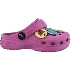 IQ Kids Shoes Παιδικά Σαμπώ CAPRERA Φούξια