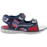 Jianni di Kappa Shoes Παιδικά Πέδιλα 0910366 Μπλέ