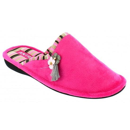 Milanos Γυναικείες Παντόφλες MAY-125 Ροζ
