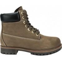 Road Shoes Ανδρικά Μποτάκια Δέρμα 0565 Αμμος Σαμουά