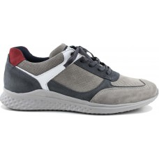Road Shoes Ανδρικά Sneakers Δέρμα 17221 Γκρί