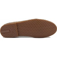 Road Shoes Γυναικεία Μοκασίνια Δέρμα 17216 Ταμπά