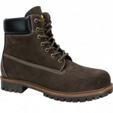 Road Shoes Ανδρικά Μποτάκια Δέρμα 0565 Καφέ Σαμουά