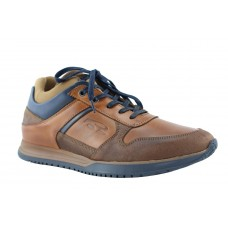 Road Shoes Ανδρικά Sneakers Δέρμα 17166 Ταμπά