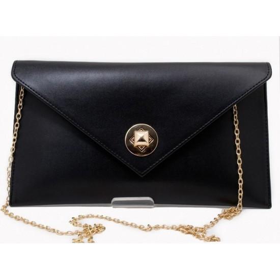 Pierro accessories Φάκελος Χειρός 90428SY01 Μαύρο