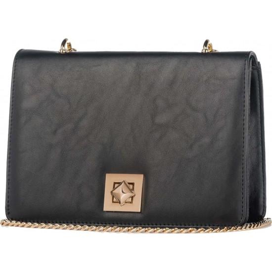 Pierro accessories Τσαντάκι Χιαστί 90556SY01 Μαύρο