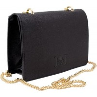 Pierro accessories Τσαντάκι Χιαστί 90545SUG01 Μαύρο