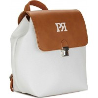 Pierro accessories Σακίδιο πλάτης 90585DL07 Λευκό Ταμπά