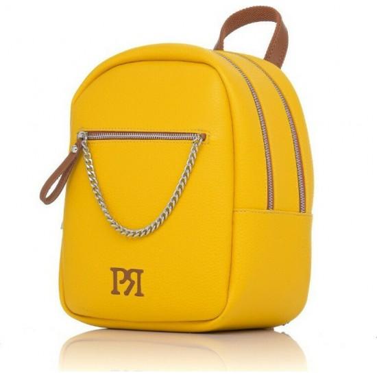 Pierro accessories Σακίδιο πλάτης 90617DL20 Κίτρινο