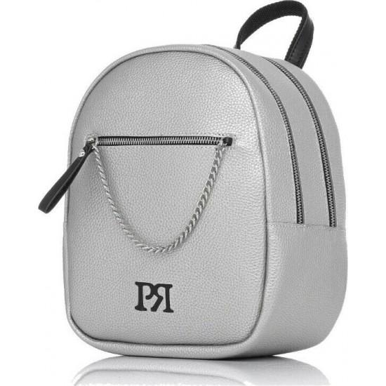Pierro accessories Σακίδιο πλάτης 90617DL22 Ασημί