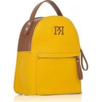 Pierro accessories Σακίδιο πλάτης 90551DL20 Κίτρινο