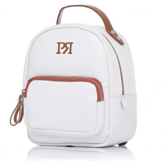 Pierro accessories Σακίδιο πλάτης 90618DL07 Λευκό