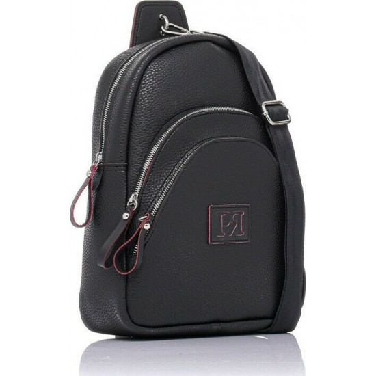 Pierro accessories Σακίδιο πλάτης 90621DL01 Μαύρο