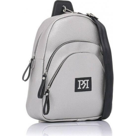 Pierro accessories Σακίδιο πλάτης 90621DL22 Ασημί