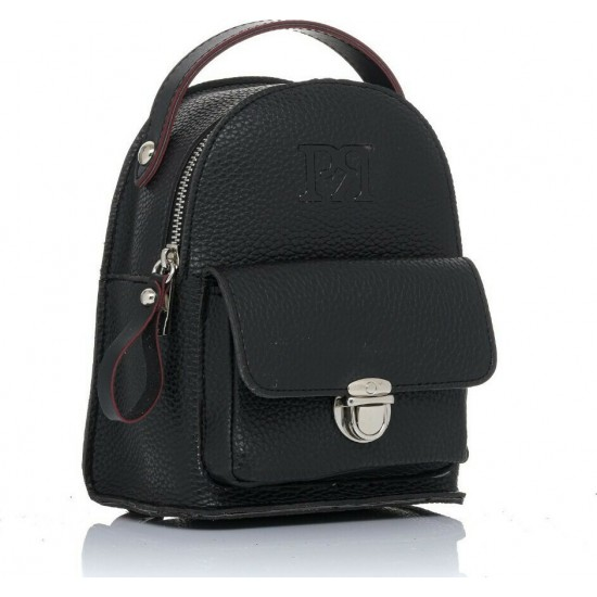 Pierro accessories Σακίδιο Πλάτης 90619DL01 Μαύρο