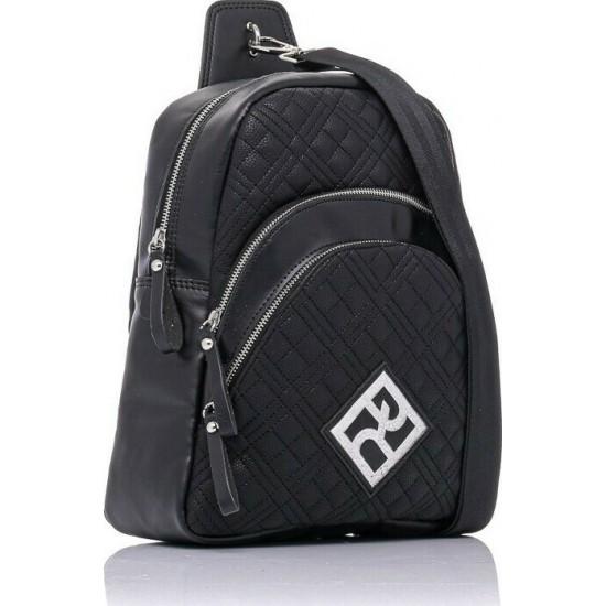 Pierro accessories Σακίδιο πλάτης 90621KPT01 Μαύρο Καπιτονέ