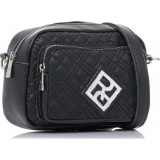 Pierro accessories Τσάντα Χιαστί 90623KPT01 Μαύρο Καπιτονέ