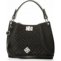 Pierro accessories Τσάντα Ωμου 90641KPT01 Μαύρο