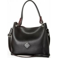 Pierro accessories Τσάντα Ωμου 90519DL01 Μαύρο