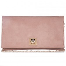 Pierro accessories Τσαντάκι 90538KS Nude Suede