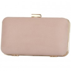 Pierro accessories Τσαντάκι Clutch 90449KS50 Nude Suede