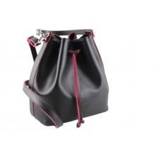 Pierro accessories Τσάντα Πουγκί Δέρμα 90400DL01 Μαύρο