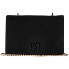 Pierro accessories Τσαντάκι Χιαστί 90545KS01 Μαύρο Suede