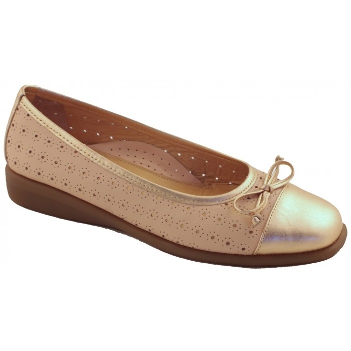 5d0a6e0a0bf Relax anatomic Γυναικεία Casual Δέρμα 2153 Nude | Milanos Shoes