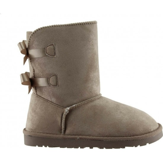 Remake Footwear Γυναικεία Μποτάκια 20702242 Κάμελ