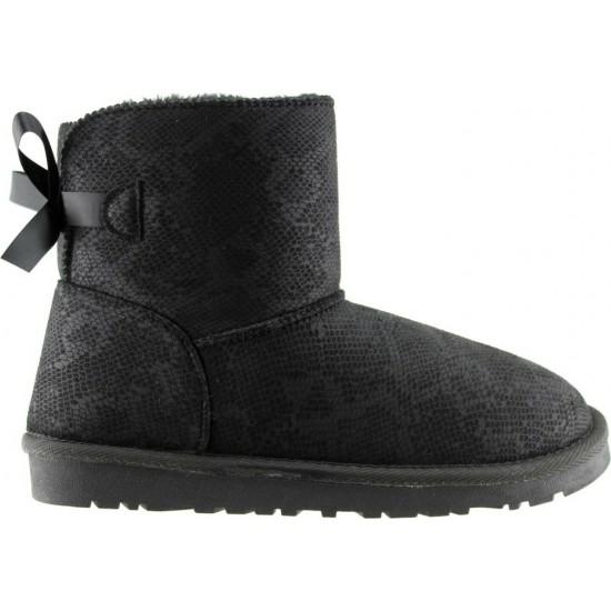 Remake Footwear Γυναικεία Μποτάκια 20702244 Μαύρο
