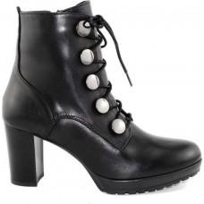 Remake shoes Γυναικεία Μποτάκια Δέρμα 8102211 Μαύρο