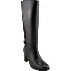 Remake shoes Γυναικείες Μπότες Δέρμα 7902203 Μαύρο