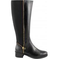 Remake shoes Γυναικείες Μπότες Δέρμα 6902243 Μαύρο