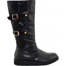 Scarpy Παιδικές Μπότες 753 Μαύρο