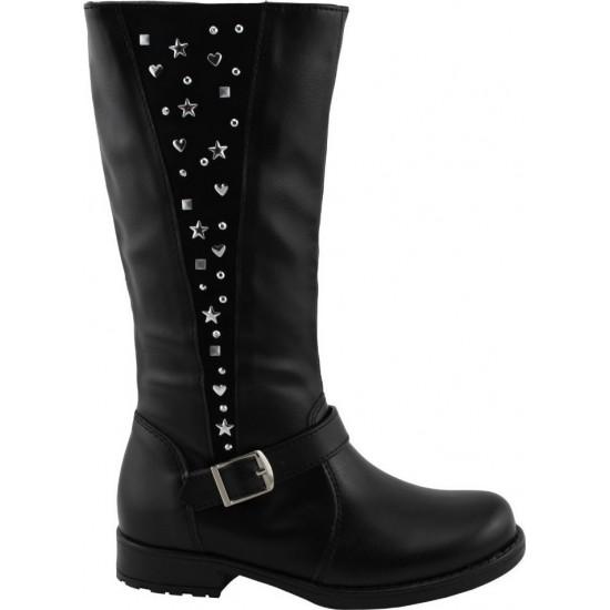Scarpy Παιδικές Μπότες 50F Μαύρο
