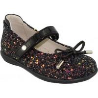 Scarpy Παιδικές Μπαλαρίνες 505 Μαύρο Glitter